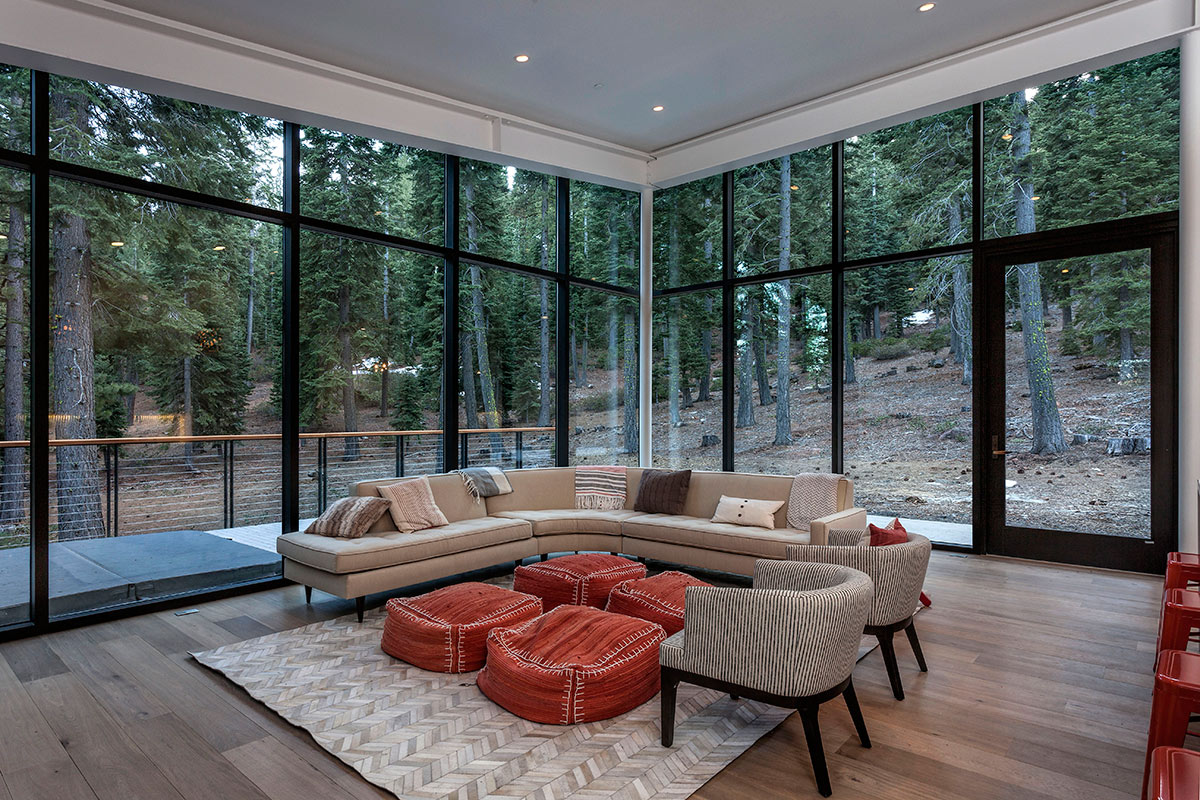 Martis Camp - Lot 38 - Living Room