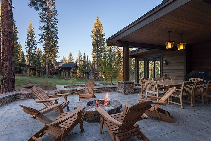 Martis Camp - Lot 257 - Patio - Fire Pit