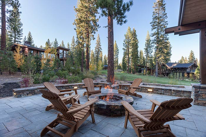Martis Camp - Lot 257 - Patio - Fireplace