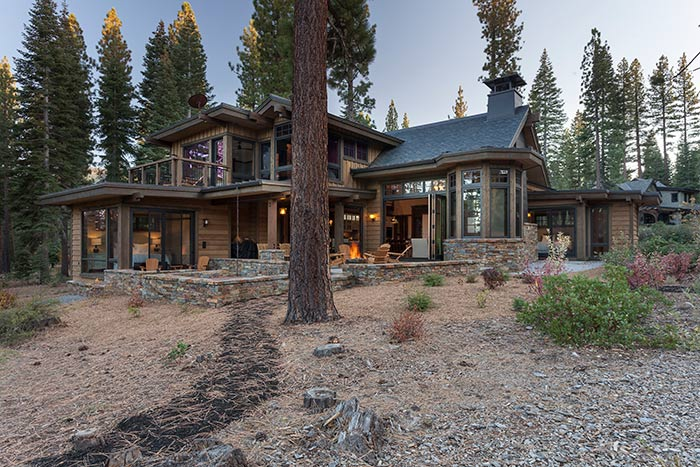 Martis Camp - Lot 257 -  Exterior Back