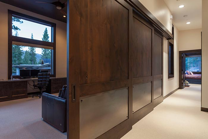 Martis Camp - Lot 365 - Custom Sliding Door