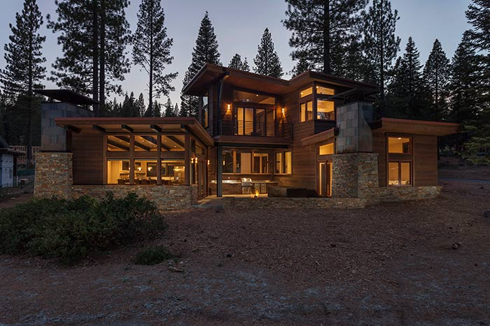 Martis Camp - Lot 365 - Exterior Back 2