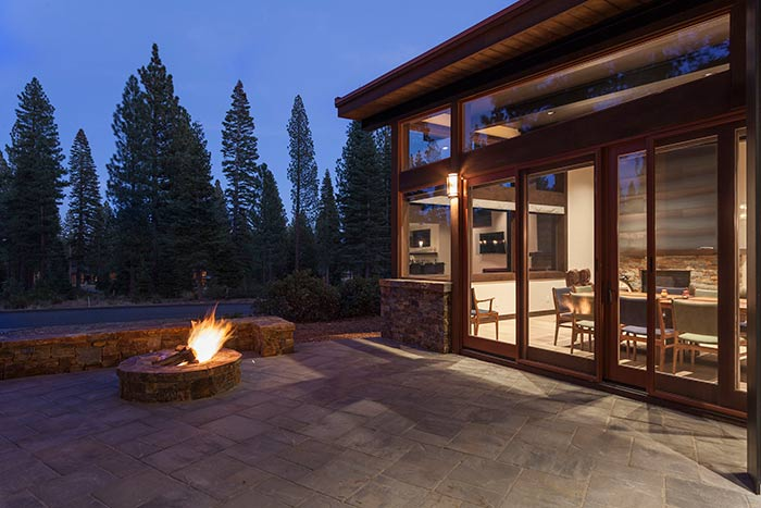 Martis Camp - Lot 365 - Exterior Back Patio