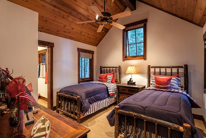 Martis Camp - Lot 270 - Bedroom