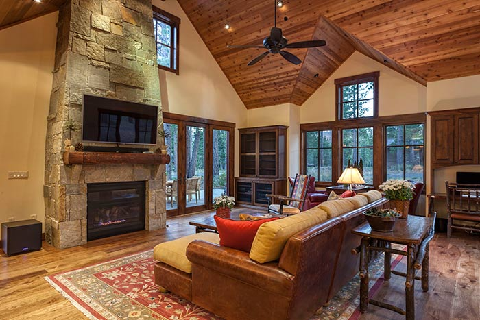 Martis Camp - Lot 270 - Living Room
