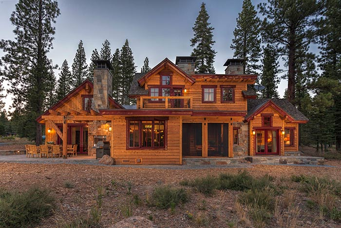 Martis Camp - Lot 270 - Exterior Back