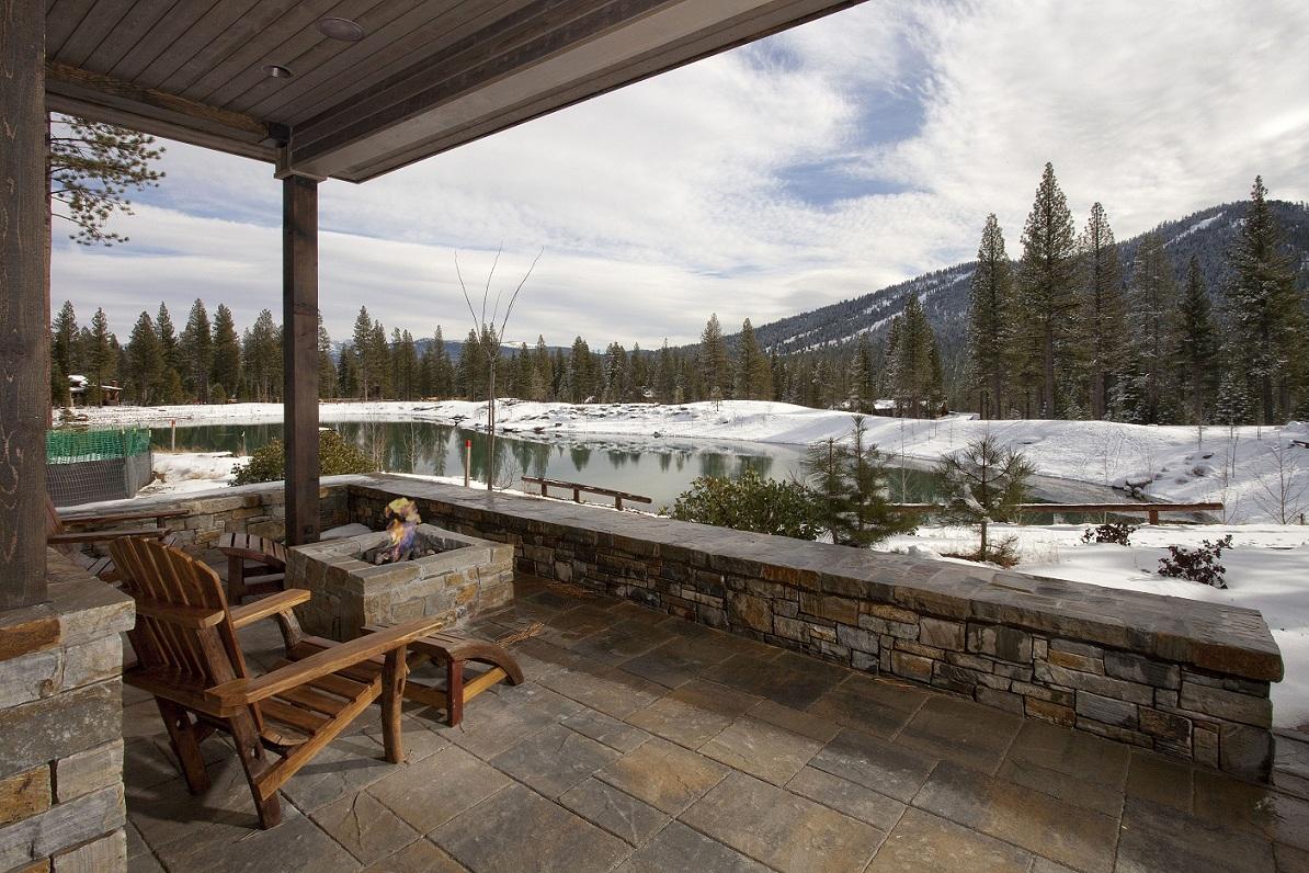 Martis Camp - Lot 301 - Exterior Deck